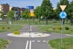 Symulacja skrzyżowania z ruchem okrężnym